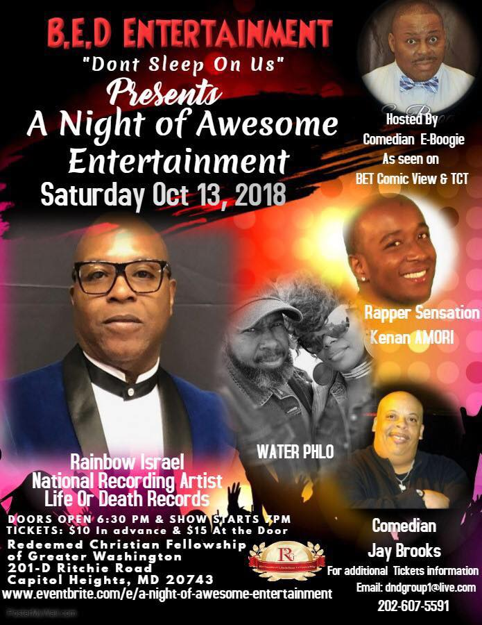 A Night of Fun & Entertainment